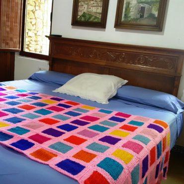 Dormitorio principal Casa rural Sierra de Aguafría
