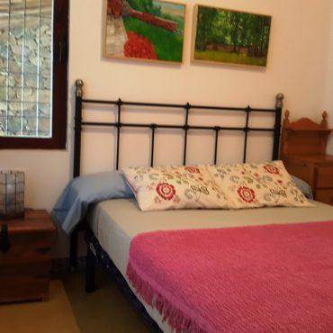 Dormitorio matrimonio Casa rural Sierra de Aguafría