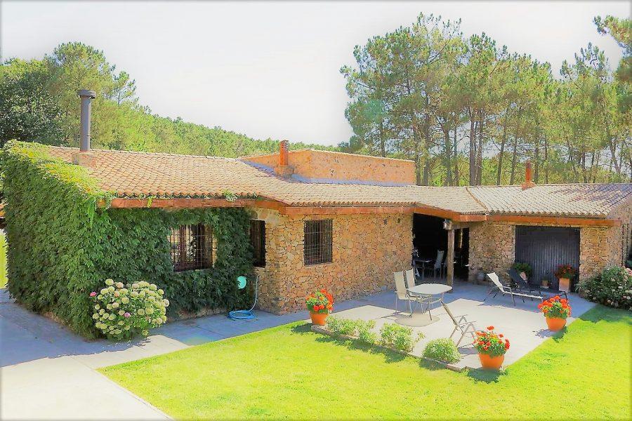 Porche Casa rural Sierra de Aguafría