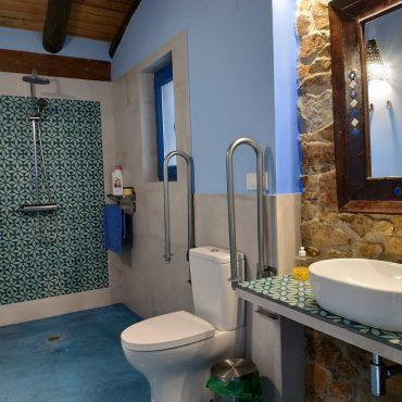 Baño Casa rural Madre del Agua