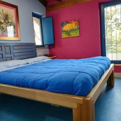Dormitorio principal Casa Rural Madre del Agua