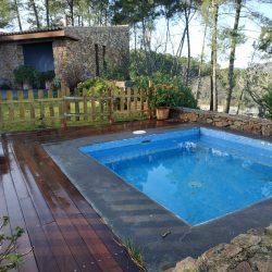 Piscina pequeña Casa rural Sierra de Aguafría